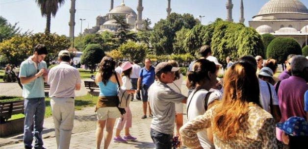 İstanbul'un turist sayısı tavan yaptı