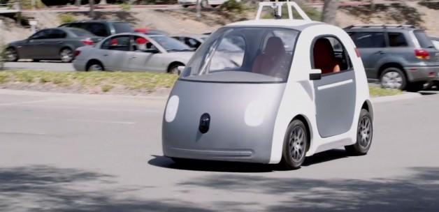 İşte Google'ın tamamlanan sürücüsüz otomobili