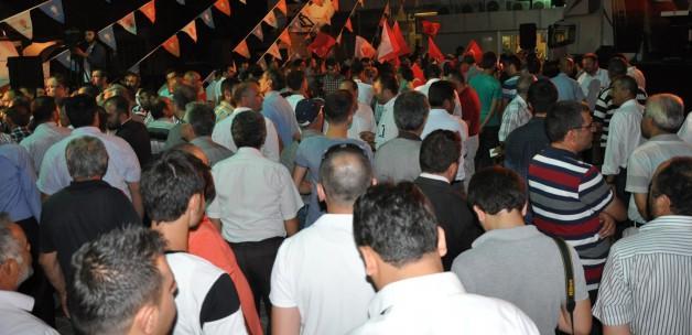 Konya'da Davutoğlu için özel program