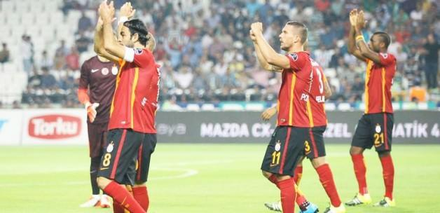 Konya'da Galatasaray'a büyük şok
