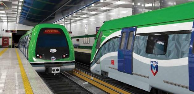 Konya'ya 44,7 kilometrelik metro geliyor