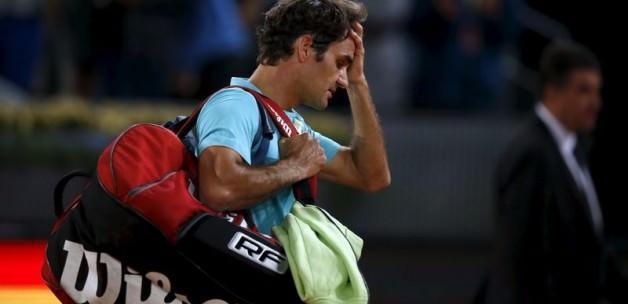 Madrid'de Roger Federer sürprizi