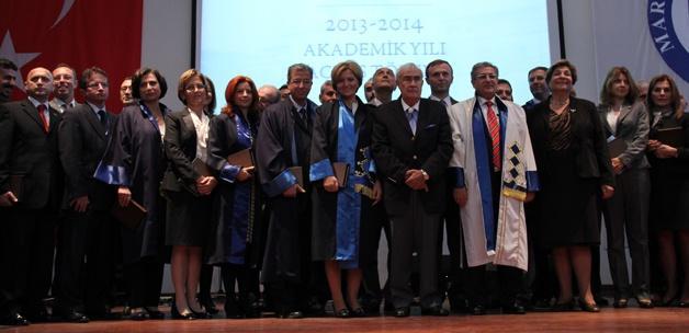 Marmara Üniversitesi'nde açılış töreni coşkusu