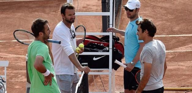 Marsel, Nadal'a Federer'le hazırlandı!