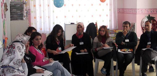 Öğretmenlere terapi eğitimi