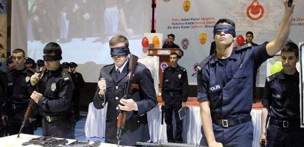 Polis adaylarına Edebali usulü nasihat