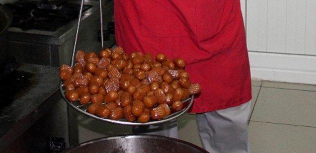 Ramazan'da her kesimin tatlısı tulumba