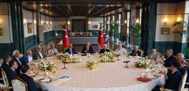 Erdoğan'ın başkanlığında toplandılar