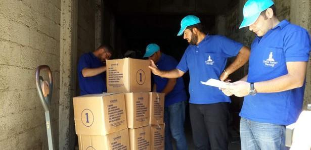 Suriyelilere ramazan yardımı