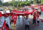 Antalya'da terör saldırılarına tepki