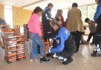 Kırklareli'nde öğrencilere kıyafet yardımı