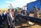 Darende Belediye Başkanı Eser, doğalgaz hattında incelemelerde bulundu