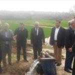 Lalapaşa'da içme suyu sondaj çalımaları