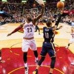 Cavaliers'ı LeBron James taşıdı!