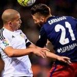 Atletico zorlu maçta 3 puanı kaptı