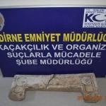 Edirne'de tarihi eser kaçakçılığı