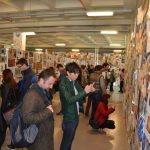 1. Uluslararası Posta Sanatı Bienali açıldı