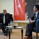 Türk Halk Müziği Sanatçısı Eroğlu, AKÜ'de söyleşiye katıldı
