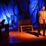 """Keşan'da """"Ben Orhan Veli"""" tiyatro oyunu sahnelendi"""