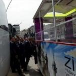 Tokat Valisi Can, tramvayla tur attı