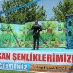 Pazarcık'ta bisiklet ve yürüyüş yolu açılışı