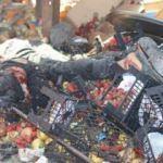 İdlib'deki pazar yerinde patlamada 11 sivil yaralandı