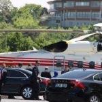 Erdoğan ailesi düğüne helikopterle geldi