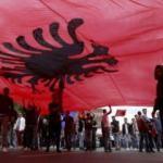 Tarihin en büyük Arnavut protestosu
