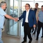 AK Parti Grup Başkanvekili Turan'dan hastane ziyareti