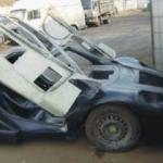 Hurda parçalar McLaren'e böyle dönüştü
