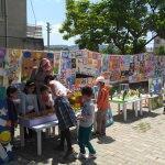 Ayvacık'ta anaokulu öğrencilerinin yıl sonu sergisi