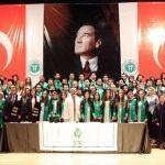 KOÜ'de mezuniyet töreni