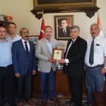 Tüm Yerel-Sen'den Edirne Belediye Başkanı Gürkan'a ziyaret