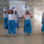 Hamur'da anasınıfı öğrencilerden yıl sonu sergisi