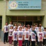 Ayancık'ta öğrencilere Türk kahramanları tanıtıldı