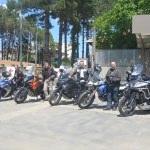 Motorsiklet  tutkunlarından Longoz Ormanları'na gezi