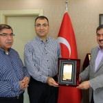 Malatya Valisi Toprak ilk ziyaretini Darende'ye yaptı