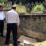 Karabük'te mezarlıkta define arandığı iddiası