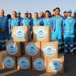 Eyyübiye Belediyesi'nden personele gıda yardımı