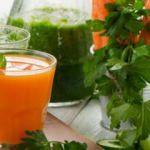 Bağışıklığı güçlendiren zencefilli havuç suyu