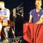 Coldplay konserinde Türk bayrağı açtı!