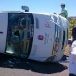 Adil Gür kaza yaptı: 14 yaralı