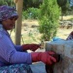 Arkeolojik kazılar kadınlara gelir kaynağı oldu
