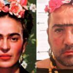 Ata Demirer'den Frida pozu