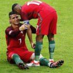 Luis Nani'den Cristiano Ronaldo'ya büyük jest