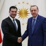 Erdoğan KKTC Başbakanını kabul etti
