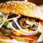 Ev yapımı mantarlı burger tarifi