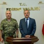 Tümgeneral Alparslan, Vali Özdemir'i ziyaret etti