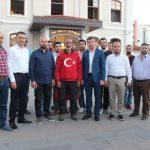 Darbe girişimini protesto için Ankara'ya yürüyor