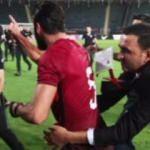 Ümit Milli Takım maçında ortalık karıştı